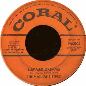 The McGuire Sisters - Summer Dreams
