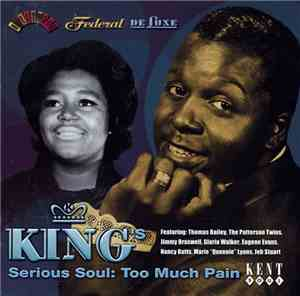 Various - King's Serious Soul: Too Much Pain