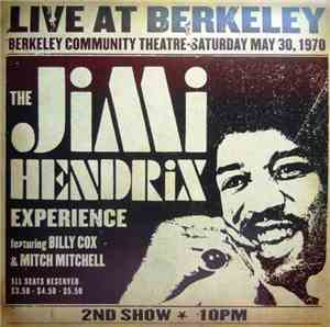 The Jimi Hendrix Experience - Live At Berkeley